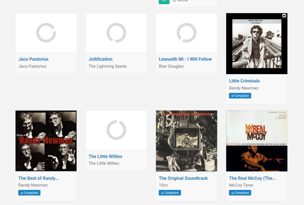 Scanning Albums